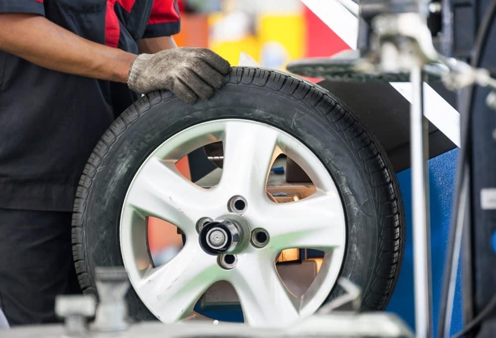 Car Tire Balancing