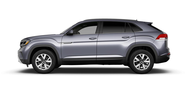 2021 Volkswagen Atlas Cross Sport S in Platinum Gray Metallic with Titan Black Interior