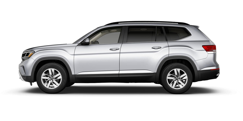 2021 Volkswagen Atlas S in Pyrite Silver with Titan Black Interior