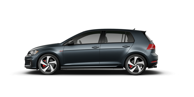 2021 Volkswagen GTI S in Dark Iron Blue Metallic with Titan Black Interior