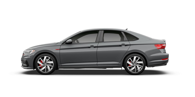 2021 Volkswagen Jetta GLI S in Pure Gray with Titan Black Interior