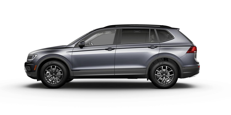 2021 Volkswagen Tiguan S in Platinum Gray with Storm Gray Interior