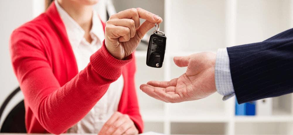 Financing at Car Dealership