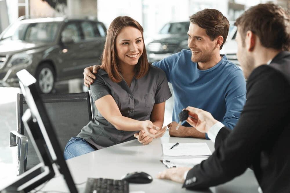 Finance Center at Car Dealership