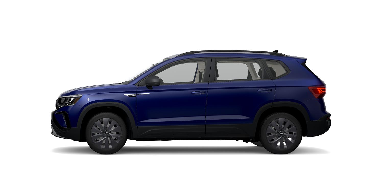 2022 Volkswagen Taos S in Dusk Blue Metallic